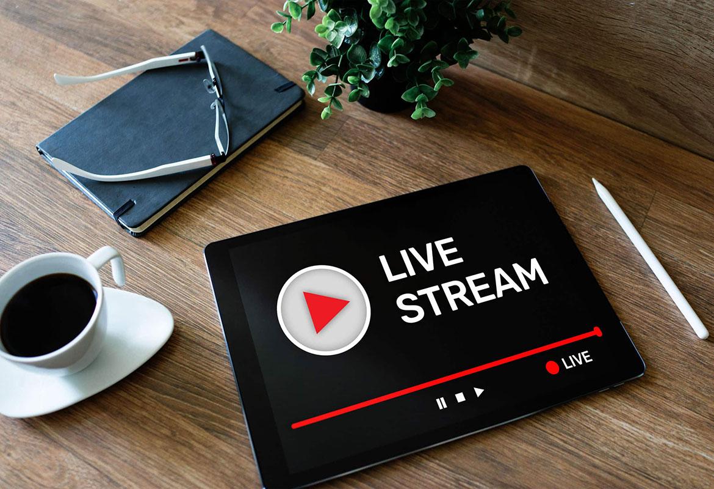Lo streaming per gli eventi aziendali | REC Eventi