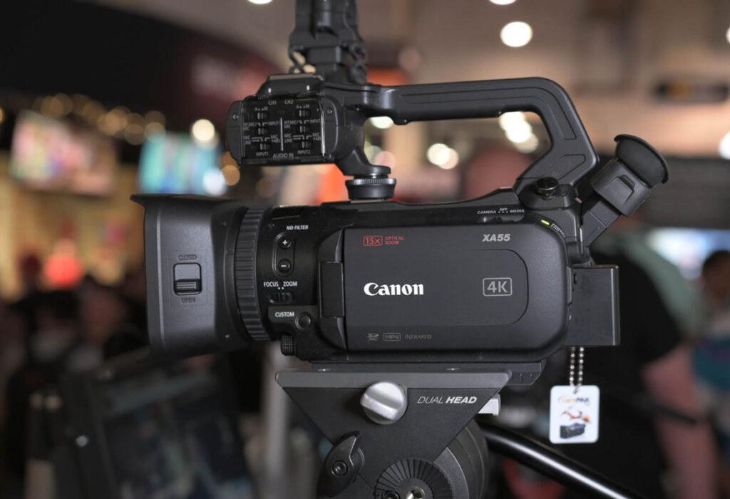 Canon XA45 caratteristiche tecniche e funzionalità